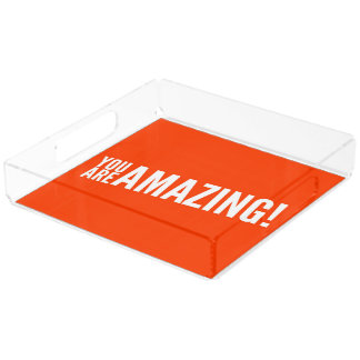 You are amazing perfume tray