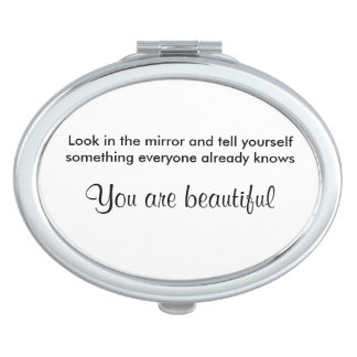 You are beautiful mirror mirrors for makeup