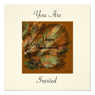 You are invited to Thanksgiving Invitation
