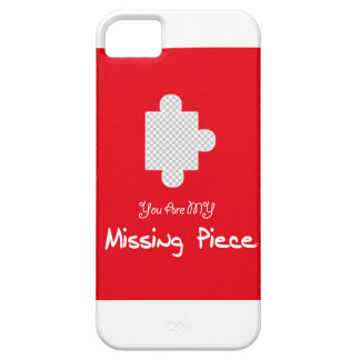 You are my Missing Piece @Creabit Barely There iPhone 5 Case