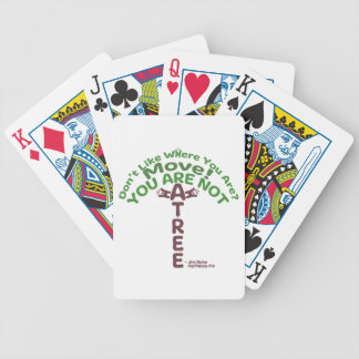 You Are Not A Tree! - Jim Rohn Poker Deck