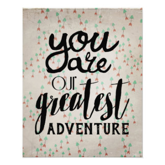 You Are Our Greatest Adventure Nursery Art Photograph