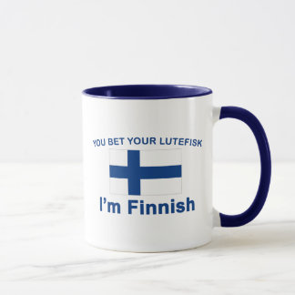 You Bet Your Lutefisk I'm Finnish
