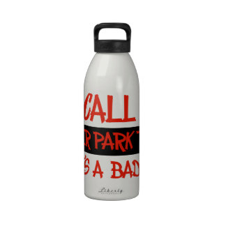You call me trailer trash drinking bottle