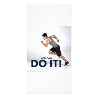You Can Do It! - Greeting Card / Motivational Card