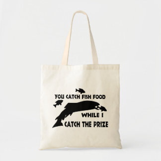 You Catch Fish Food Tote Bag