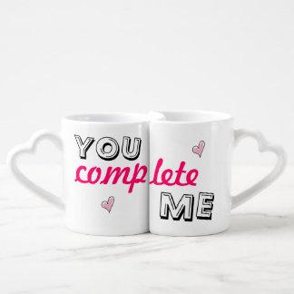 You complete me - lover's coffee mug