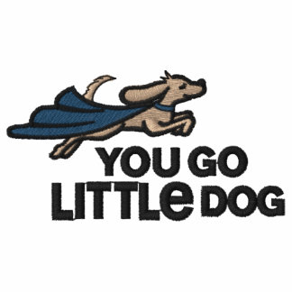 You Go Little Dog Embroidered Polo