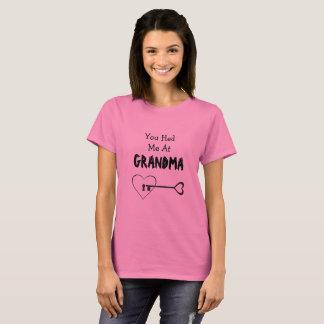 You Had Me at Grandma, Key to my Heart Shirt