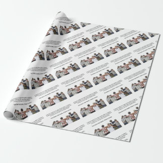 You Have My Back, I Have Yours Wrapping Paper