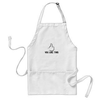 you like this apron