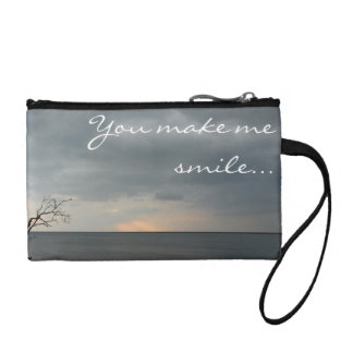 You make me smile...even when the skies are grey! coin purse