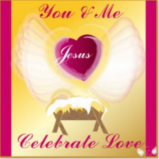 You Me And Jesus Celebrate Love-Customize Standing Photo Sculpture