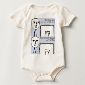 You Really Think Someone Would Do That? Baby Bodysuit