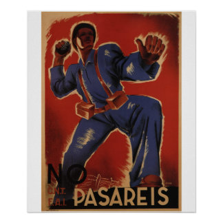 You shall not pass (1937)_Propaganda Poster