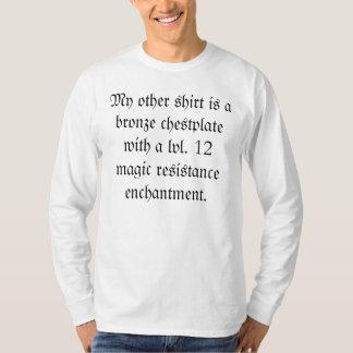 You tell 'em, rpg man. shirt