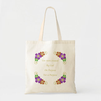 You Were Created Budget Tote Tote Bags