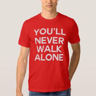 You'll never walk alone Liverpool Tee Shirt