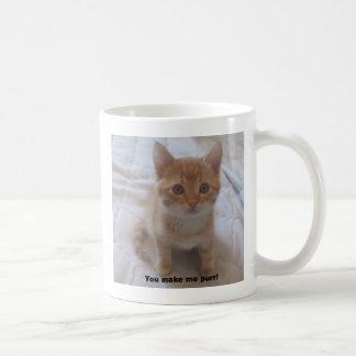 youmakemepurr - Customized Basic White Mug