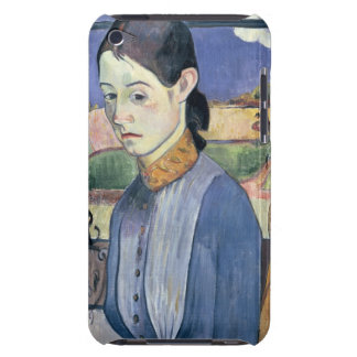 Young Breton Woman, 1889 (oil on canvas) Barely There iPod Case