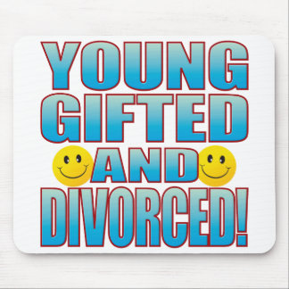 Young Divorced Life B Mouse Pad