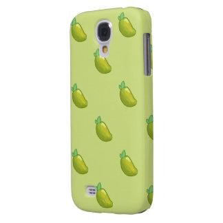 young fresh mango pattern HTC vivid tough Galaxy S4 Case