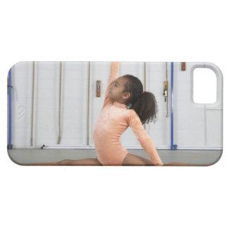 Young girl gymnast practicing her floor iPhone 5 case