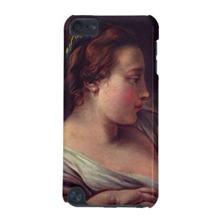 Young Girl Jeune fille by Francois Boucher iPod Touch (5th Generation) Case