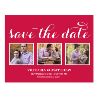 YOUNG & IN LOVE | SAVE THE DATE ANNOUNCEMENT POSTCARD