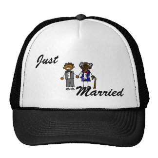 Young Old Black Gay Couple Trucker Hat