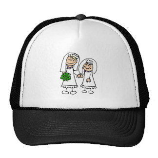 Young & Old Brides Mesh Hat