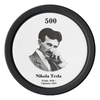 Young Tesla Poker Chips