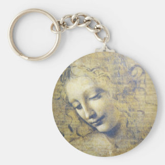 young woman 2 key ring