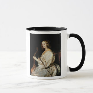 Young Woman Playing a Viola da Gamba Mug
