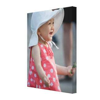 Your baby on a wrapped canvas