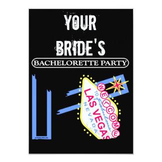 YOUR BRIDE'S BAHELORETTE PARTY CARD