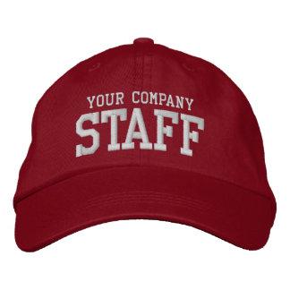 Your business staff promotional marketing employee baseball cap