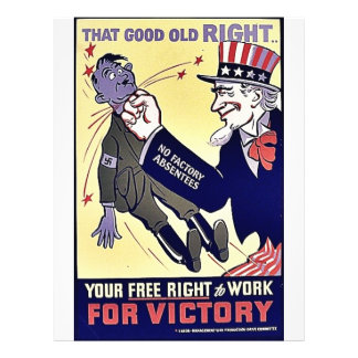 Your Free Right To Work Personalized Flyer