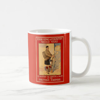 Your King and Country Need You, British Empire Coffee Mug