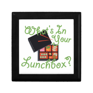 Your Lunch Box Small Square Gift Box