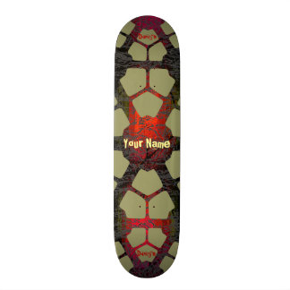 Your Name Cool Grungy Skateboard