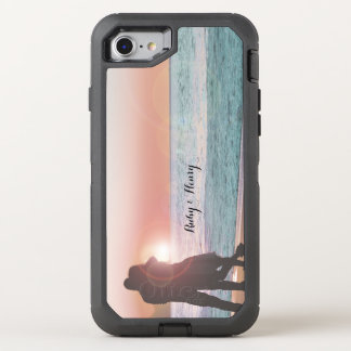 Your Photo Here With Name and Photo OtterBox Defender iPhone 8/7 Case