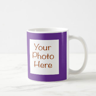 Your Photo on Purple Mug