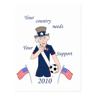 Your team needs you postcards