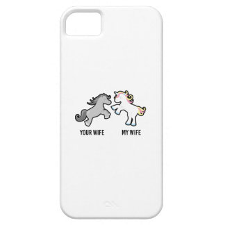Your Wife My Wife Unicorn Barely There iPhone 5 Case
