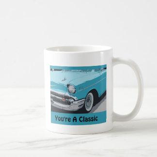 You're a Classic, Classic 1955  Blue Chevy Coffee Mug