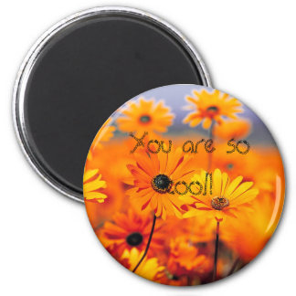 your'e cool!! 6 cm round magnet