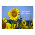 You're heads above the rest! greeting card