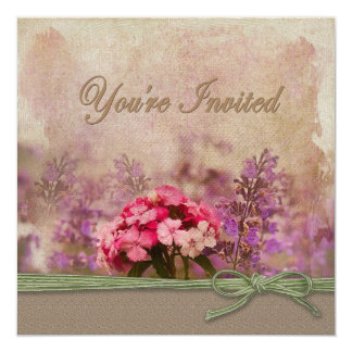 You're invited - Cottage garden Card