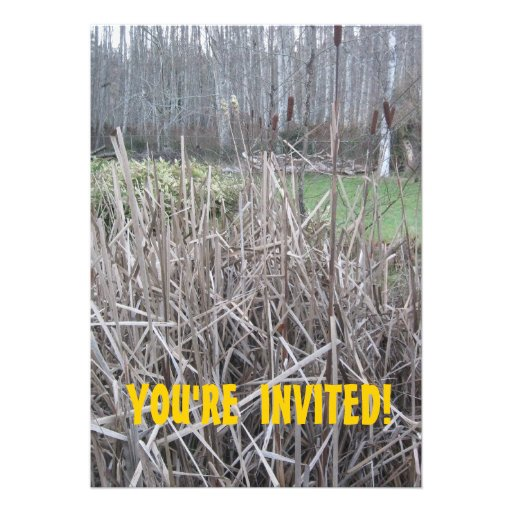 You're Invited Hunting Party Invitation